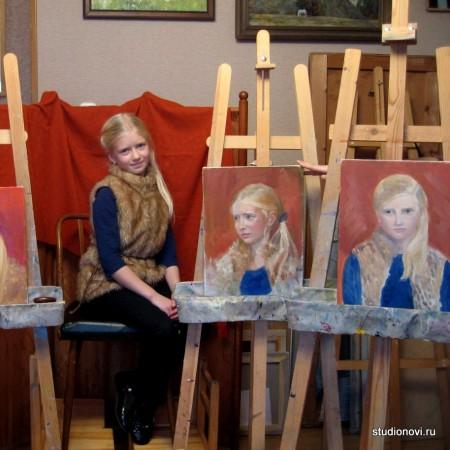Курс живописного портрета с натуры «К вершинам мастерства»
