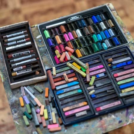 Мастер-класс по живописи пастелью  «Волшебство штрихов»