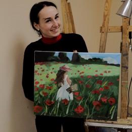 Мастер-классы по живописи маслом и пастелью мы проводим постоянно!